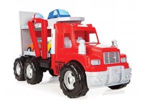 Truck transport s 4 autíčky