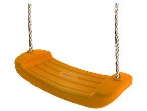 Houpačka - prkénko plastové oranžové