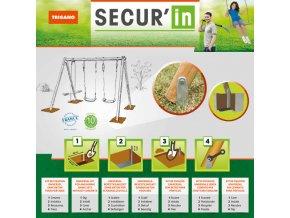Zemní uchycení Secur in
