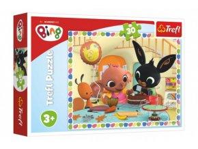 Puzzle Bing Bunny Pojďme spolu péct 27x20cm 30 dílků skladem
