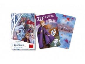 Kvarteto společenská hra Ledové království II/Frozen II v krabičc