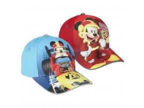 Kšiltovka Disney Mickey roadster modrá/červená