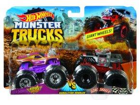 Hot Wheels Monster trucks demoliční duo