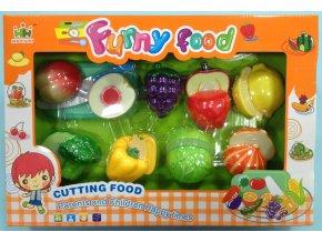 Set potravin na suchý zip zelenina, ovoce skladem