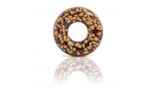 Nafukovací kruh čokoládový donut 1,14m skladem