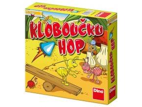 Dětská hra: Kloboučku hop skladem