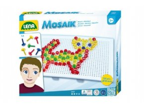 Mozaika klobouček krystal 1cm 140ks v krabici 20x16,5x5cm
