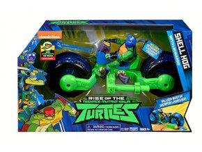 Želvy Ninja motorka s figurkou