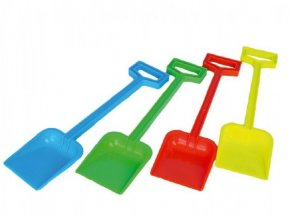Lopata plast 44cm 4 barvy nářadí (1ks)