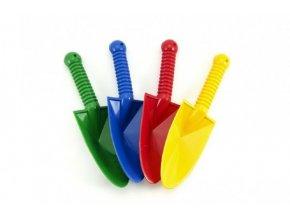 Rýč/Lopatka plast 25cm 4 barvy (1ks)