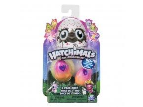 Hatchimals zářící zvířátka dvojbalení serie 4