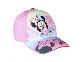 Kšiltovka Disney Minney růžová