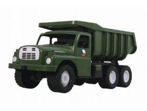 Auto Tatra 148 plast 73cm v krabici - vojenská