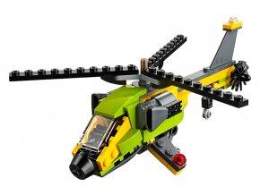LEGO Creator Dobrodružství s helikoptérou skladem