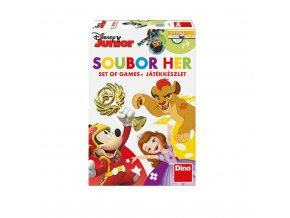 Soubor her Disney junior dětská hra 4v1