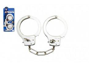 Pouta policejní kov 17cm s klíčem