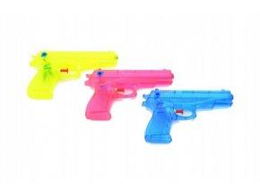 Vodní pistole plast 17cm asst 3 barvy v sáčku