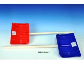 Lopata Hrablo 87cm dřevo/plast 2 barvy
