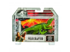 Jurský svět dino predátoři zelený Velociraptor