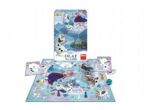 Ledové království/Frozen Olaf na ledě společenská hra v krabici 20x29x6cm