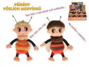 Příběhy včelích medvídků - Čmelda a Brumda plyš 15cm na baterie s písničkami (1 ks)