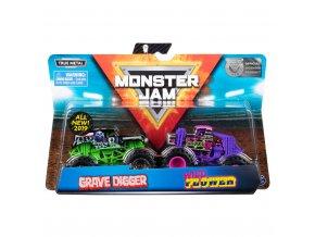 Monster jam sběratelská auta dvojbalení SKLADEM