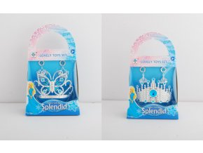 Šperky pro princeznu sada modrá skladem