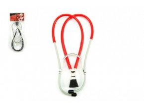 Stetoskop doktor/lékař plast 26cm v sáčku