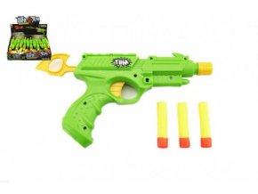 Pistole na pěnové náboje plast 25cm