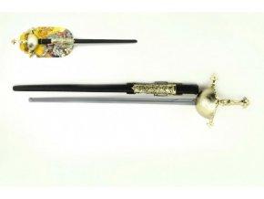 Kord meč rytířský plast 63cm