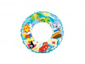 Kruh 61cm, transparent dětský motiv skladem