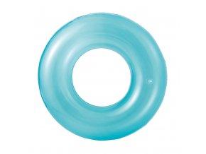 Kruh transparentní modrý