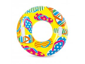 Kruh s potiskem žlutý