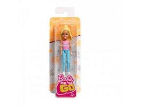 barbie mini panenka hnedovlaska