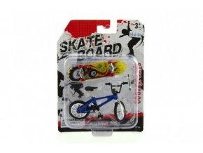 Kolo + skateboard prstový šroubovací plast 10cm skladem