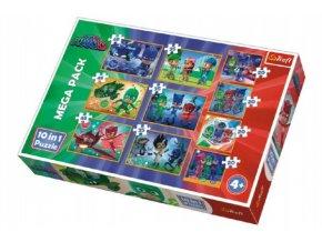 Puzzle PJ Masks 10v1 v krabici