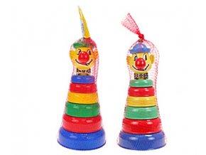 Pyramida klaun 6kroužků