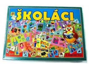 Školáci 4 logické hry společenská hra