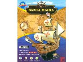 3d puzzle lod santa maria