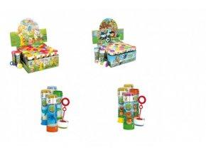 Bublifuk 60ml mix druhů v plastové lahvičce 3,5x11cm 3(1 ks)