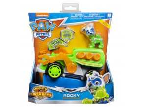 Tlapková patrola super vozidla se světelným efektem Rocky