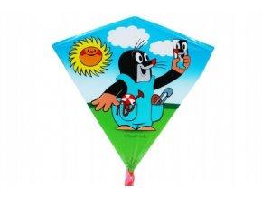 Drak létající Krtek plast 68x73cm skladem