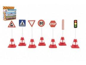 Dopravní značky plast 11,5cm