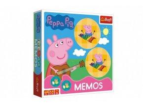 Pexeso papírové Prasátko Peppa/Peppa Pig společenská hra 36 kusů