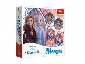 Pexeso papírové Ledové království II/Frozen II společenská hra 36 kusů