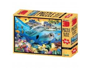 Puzzle 3D 500 dílků oceán