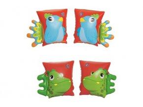 bestway nafukovaci rukavky papousek dinosaurus