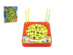 Hra ryby/rybář plast 24 ryb 22x23cm společenská hra na baterie skladem