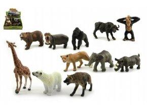 Zvířátka safari ZOO plast 10cm skladem