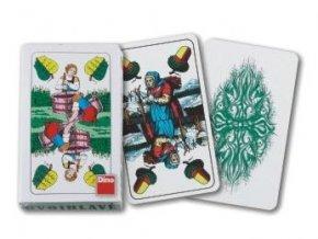 Karty hrací dvouhlavé skladem